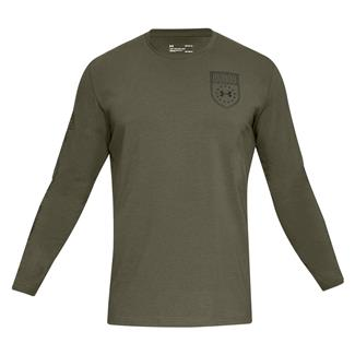 Under Armour Tactical Division Long Sleeve Marine OD Green / Black