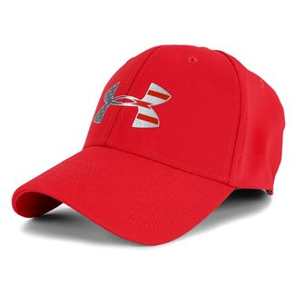 Under Armour Freedom Low Crown Hat Red / Silver / White