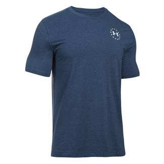 Under Armour Freedom Flag T-Shirt Academy / White