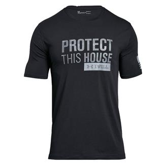 Under Armour Protect This House 2.0 T-Shirt Black / Steel