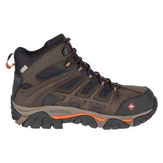Merrell Work Moab 2 Peak Mid WP CT Brown