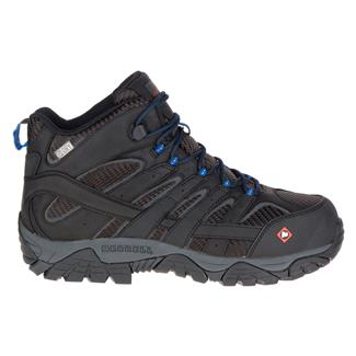 Merrell Work Moab 2 Vent Mid WP CT Black