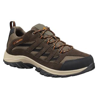 Columbia Crestwood Camo Brown / Heatwave