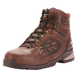 "Ariat 6"" Rebar Flex CT WP Dark Brown"