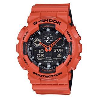 Casio Tactical G-Shock Military Series GA100L Orange