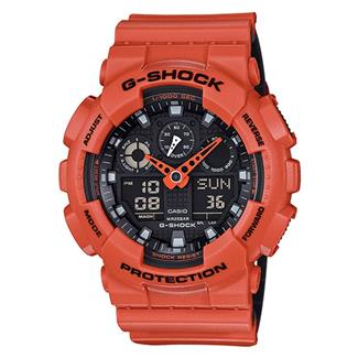 Casio Tactical G-Shock Military Series GA100L Orange