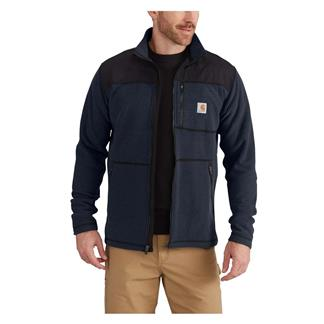 Carhartt Fallon Full-Zip Sweater Fleece Navy