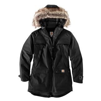 Carhartt Quick Duck Sawtooth Parka Black