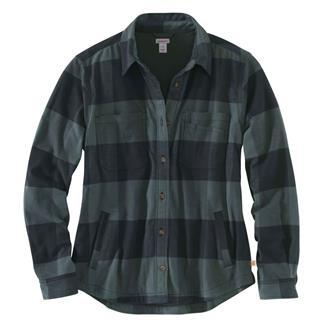 Carhartt Rugged Flex Hamilton Fleece Lined Shirt Elm