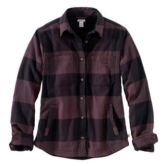 Carhartt Rugged Flex Hamilton Fleece Lined Shirt Deep Wine