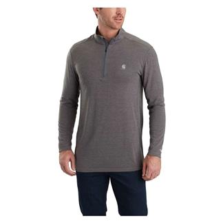 Carhartt Force Extremes Long Sleeve Half-Zip Shadow Heather