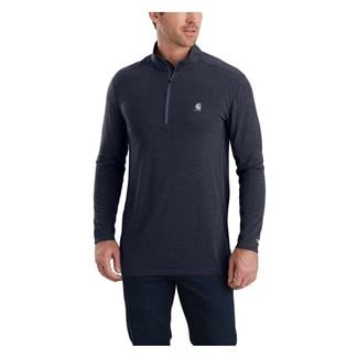 Carhartt Force Extremes Long Sleeve Half-Zip Navy Heather