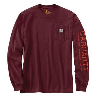 Carhartt Workwear Logo Sleeve Graphic Long Sleeve T-Shirt