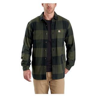 Carhartt Rugged Flex Hamilton Fleece Lined Shirt Olive