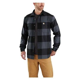 Carhartt Rugged Flex Hamilton Fleece Lined Shirt Bluestone