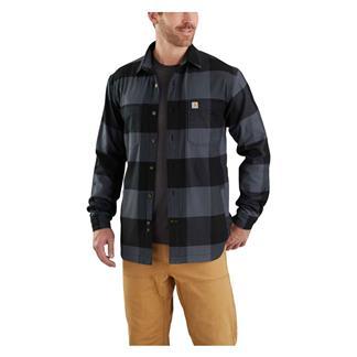 Carhartt Rugged Flex Hamilton Fleece Lined Shirt Bluestone