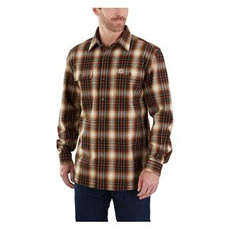 Carhartt Hubbard Plaid Shirt Sequoia