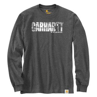 Carhartt Workwear Hunting Graphic Long Sleeve T-Shirt Carbon Heather