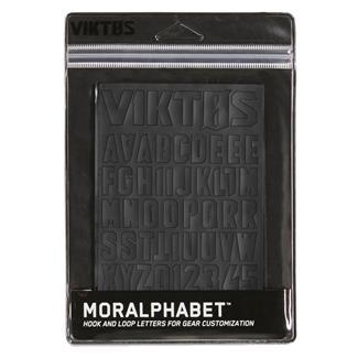 Viktos Moralphabet Hook and Loop Letters Nightfjall