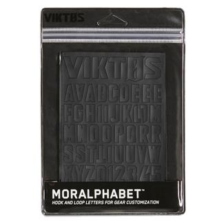 Viktos Moralphabet Hook and Loop Letters Nightfjall