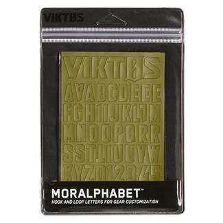 Viktos Moralphabet Hook and Loop Letters Spartan