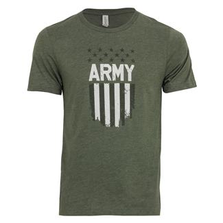 TG Army Flag T-Shirt Military Green