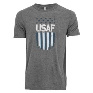 TG USAF Flag T-Shirt Gray