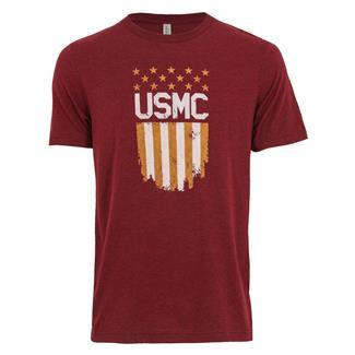 TG USMC Flag T-Shirt Cardinal