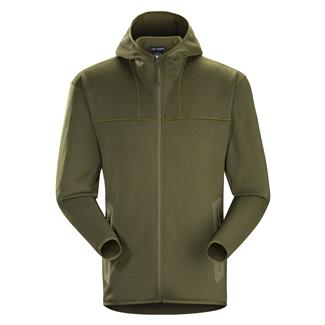 Arc'teryx LEAF Naga Hoodie Full Zip Ranger Green