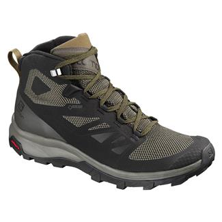 Salomon Outline Mid GTX Black /  Beluga /  Capers