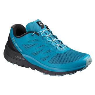 Salomon Sense Pro Max Fjord Blue /  Black /  Lead