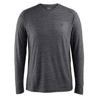 Wolverine Edge Long Sleeve T-Shirt Black Heather
