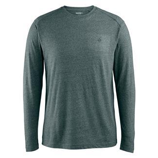 Wolverine Edge Long Sleeve T-Shirt Blue Fir Heather