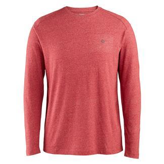 Wolverine Edge Long Sleeve T-Shirt Dark Red Heather