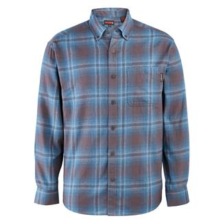 Wolverine Hammond Long Sleeve Flannel Shirt Night Sky Plaid