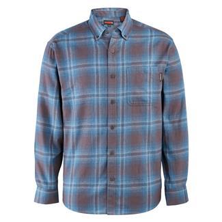 Wolverine Hammond Long Sleeve Flannel Shirt Night Sky Plaid