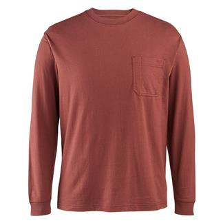 Wolverine Knox Long Sleeve T-Shirt Oxblood