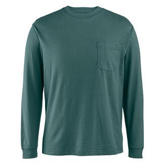 Wolverine Knox Long Sleeve T-Shirt Blue Fir
