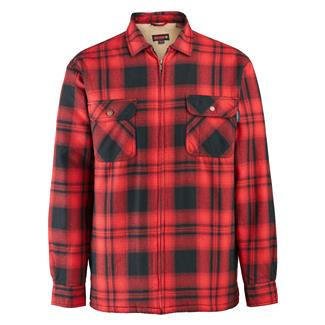 Wolverine Marshall Shirt Jac Dark Red Plaid