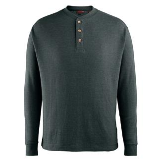Wolverine Walden Long Sleeve Henley Blue Fir Heather