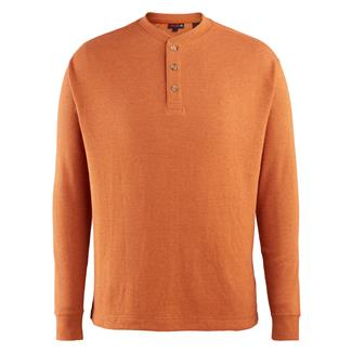 Wolverine Walden Long Sleeve Henley Russet Heather