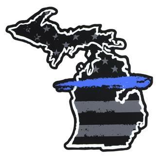 TG TBL Michigan Sticker