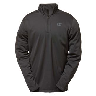 CAT Flex Layer Quarter Zip Black