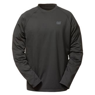 CAT Flex Layer Long Sleeve T-Shirt Black