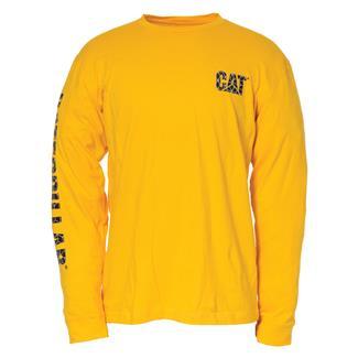 CAT Custom Banner Long Sleeve T-Shirt Yellow