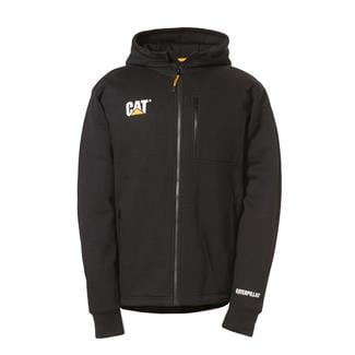 CAT Drop Tail Zip Sweatshirt Black