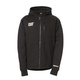 CAT Drop Tail Zip Sweatshirt Black