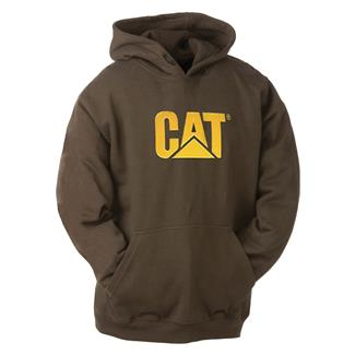 CAT Trademark Hoodie Dark Earth