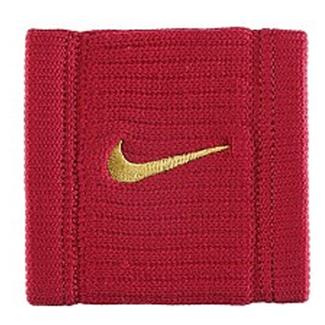 NIKE Dri-FIT Reveal Wristbands Red Crush / Dark Citron