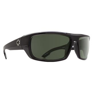 SPY Optic Bounty Black ANSI Rx (frame) / Happy Gray / Green Polarized (lens)